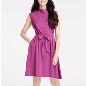 NWT Ann Taylor Asymmetrical Hem Shirtdress Dress
